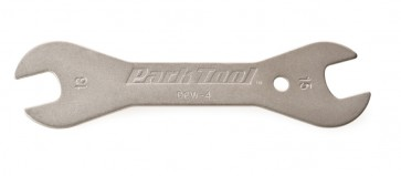 Double-Ended Cone Wrench:  13mm, 15mm