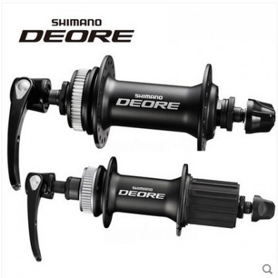 Shimano Deore Center Lock Disc Hub Set HB-M6000/FH-M6000, 32H, Black