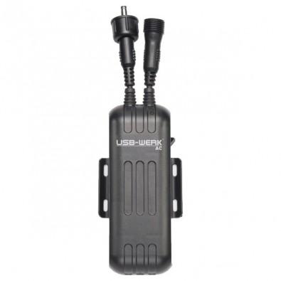 B+M USB-WERK dynamo fed device charger