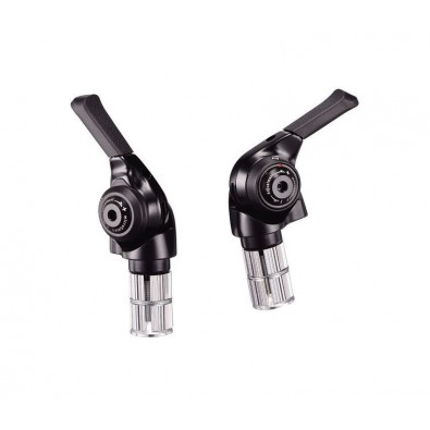 MicroShift BS-M10 Bar End Shift Levers, 10-speed, Black