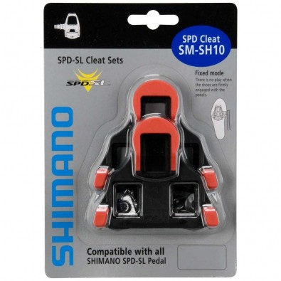 Shimano SPD-SL Cleat Set SM-SH10, Red