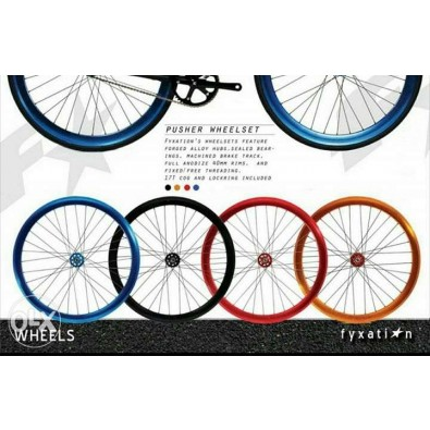 Fyxation Pusher Wheelset