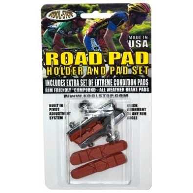 Kool-Stop Dura Road Holder with 2 Pad Sets