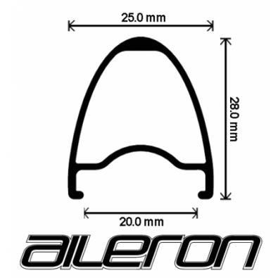 "Velocity Aileron Rims - 700c / 28"""