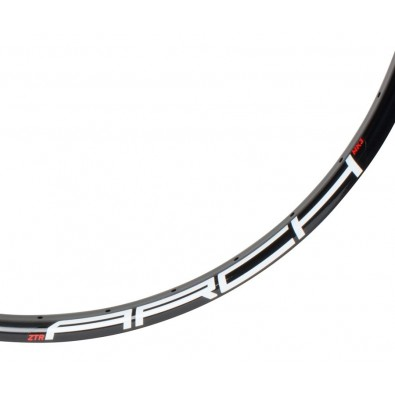 NoTubes Rim, Arch Mk3 27.5, 32h, Black, White/Red 485C