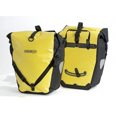 Ortlieb Back Roller Classic Bike Pannier (Pair), Yellow/Black