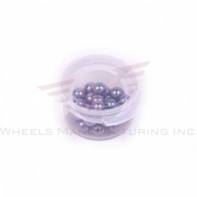 "Wheels Manf. - 7/32"" Grade 25 Ball Bearings - Tub/25"