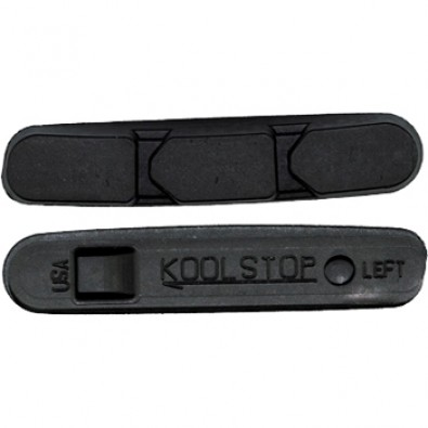 Kool-Stop Replacement pads for Campi Super Record 2011, Black
