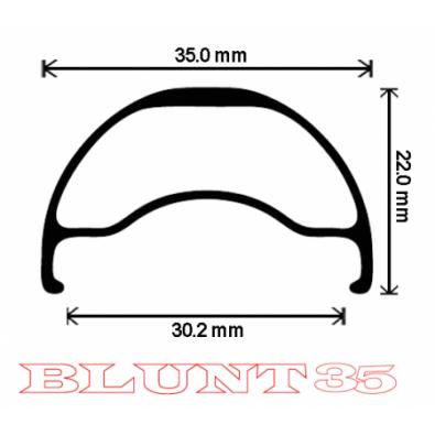 "Velocity Blunt 35 Rims - 650b / 27.5"""