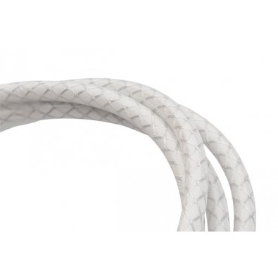 Jagwire 5mm CGX Brake Housing with Slick-Lube Liner - Per Metre, White Braided