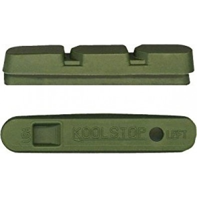 Kool-Stop Replacement pads for Campi Super Record 2011, Ceramic Green