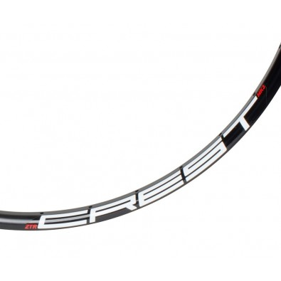 NoTubes Rim, Crest Mk3 27.5, 32h, Black, White/Red 485C