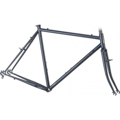 Surly - Frame Set - Cross Check, 58cm, Dark Dirty Blue