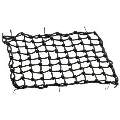 Axiom Elastic Cargo Net For Basket/Rack, Black