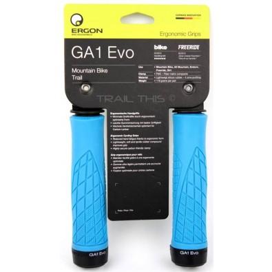 Ergon Ergon GA1 Evo Grips: Blue