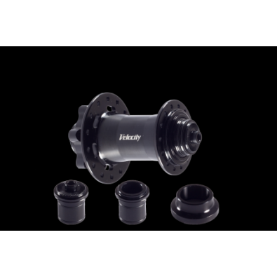 Velocity ATB Disc Convertible Hub Front - 32h Black