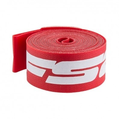 FSA 700c x 17mm Rim Strip Red Nylon, Each
