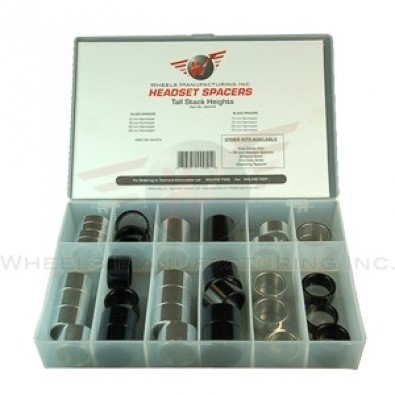 "Wheels Manf. - 1-1/8"" Tall Stack Headset Spacer Kit"