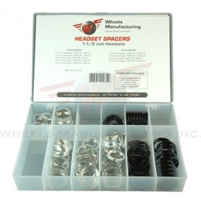 "Wheels Manf. - 1-1/8"" Headset Spacer Kit"