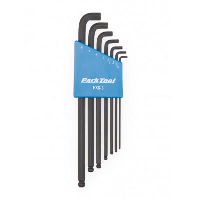 Stubby Hex Wrench Set:  1.5mm to 6mm