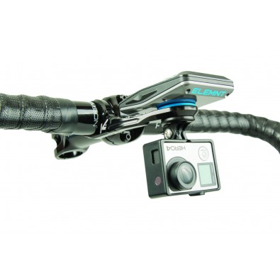 K-EDGE WAHOO ELEMNT/BOLT  Pro Combo Mount, 31.8mm, Black Ano