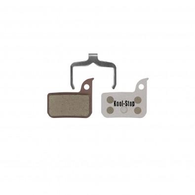 Kool-Stop Disc Brake Pad for SRAM Red Road, Force 22 Hyd, Organic w/ Alu Plate