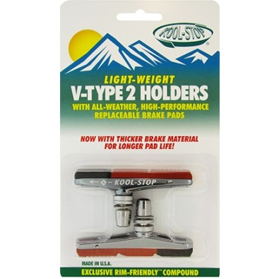 Kool-Stop V-Type 2 Holder with V2 dual compound inserts