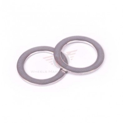 Wheels Manf. - Pedal Washer - Stainless (Pair)