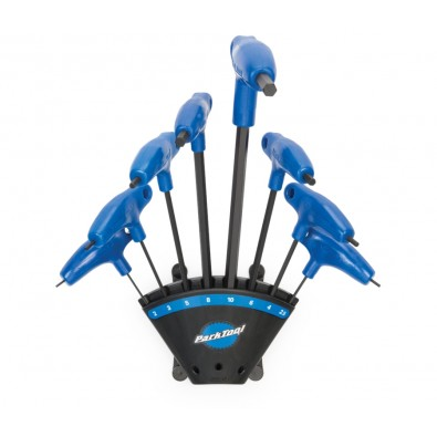 P-Handle Hex Wrench Set of 8 with Holder