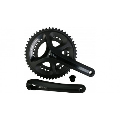 Shimano 105 11-Speed Crankset, FC-5800, 50x34T, Black, 172.5MM