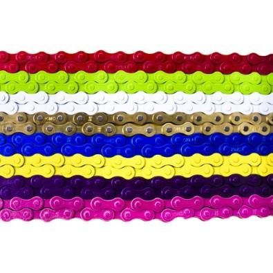 KMC Z410 Single Speed Chains: 1/8 112 Links