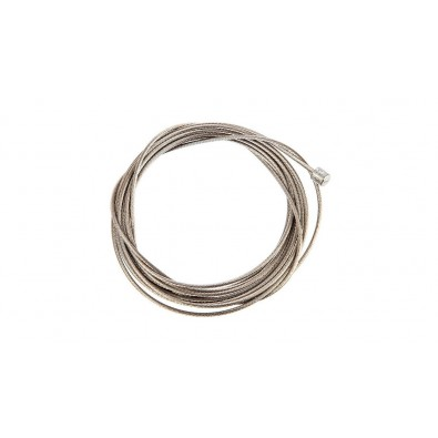 Shimano Stainless Derailleur Cable 1.2 x 2100mm, Single