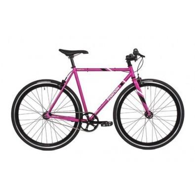 Fyxation East Side Track Bike Complete, 52cm, Pink/Black