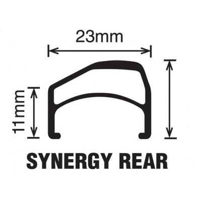 "Velocity Synergy OC Rims - 700c / 28"""