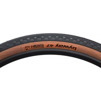 WTB Byway 650b x 47mm Road TCS Tire, Folding Bead, Black/Tan