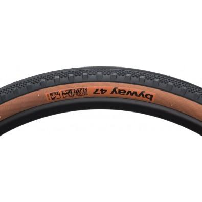 WTB Byway 650b x 47mm Road TCS Tire, Folding Bead, Black/Tan