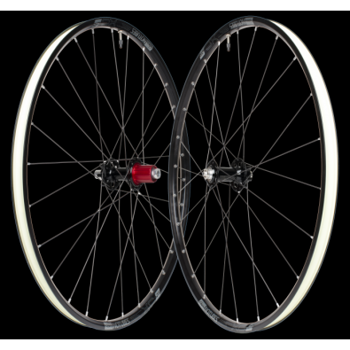 NoTubes XC LTD Wheelset, Front & Rear, 27.5, SE, 9x100/12x142, Shimano