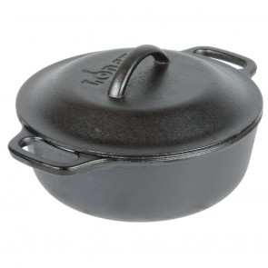 Lodge 2 Quart Cast Iron Serving Pot