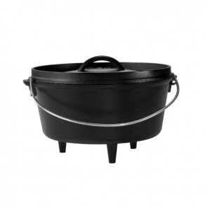 Lodge 10 Inch / 5 Quart Deep Camp Dutch Oven