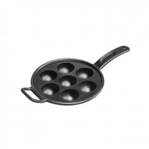 Lodge Pro Logic Cast Iron Aebleskiver Pan
