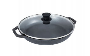 Lodge 12 Inch Everyday Pan with Glass Lid