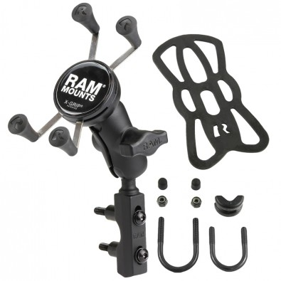 RAM® X-Grip® Phone Mount with Motorcycle Brake/Clutch Reservoir Base
