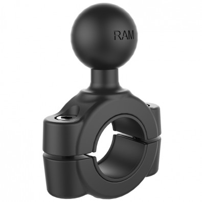"RAM Torque 3/4"" - 1"" Diameter Handlebar/Rail Base with 1"" Ball"