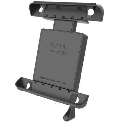 RAM Tab-Lock Universal Locking Cradle for the Apple iPad 4, iPad 3, iPad 2 & iPad 1