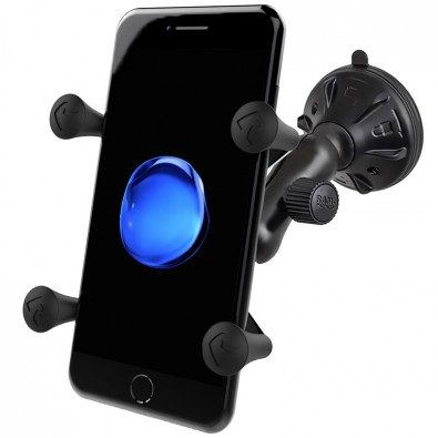 RAM Universal X-Grip Smartphone Mount with Suction Cup