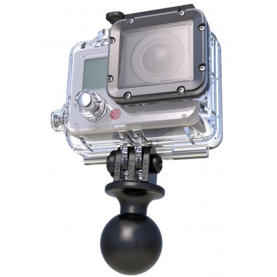 "RAM 1"" Diameter Ball with GoProΠHero Adapter"